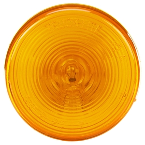 10202Y by TRUCK-LITE - 10 Series, Incandescent, Yellow Round, 1 Bulb, Marker Clearance Light, PC, PL-10, 12V
