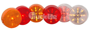"1050-3 by TRUCK-LITE - LED SIGNAL STAT M/C 2 1/2 ""  LAMP, BULK"