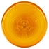 10202Y by TRUCK-LITE - 10 Series, Incandescent, Yellow Round, 1 Bulb, Marker Clearance Light, PC, PL-10, 12V thumbnail 1 of 4