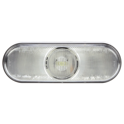 66205C by TRUCK-LITE - 66 Series, LED, Clear Oval, 1 Diode, Back-Up Light, Fit 'N Forget S.S., 12V
