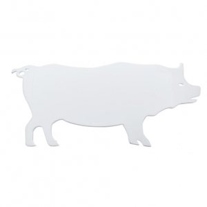 10929 by UNITED PACIFIC - Pig Cutout - Facing Left