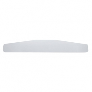 """21415 by UNITED PACIFIC - 3"""" x 13"""" Standard Stainless Bottom Mud Flap Plate - Welded Stud"""