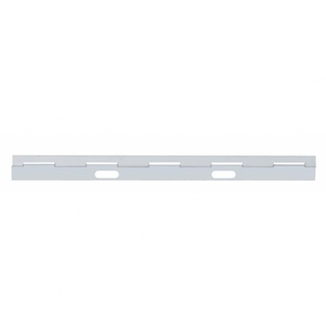 "21554 by UNITED PACIFIC - 24"" x 8"" Stainless Hinge Plate"