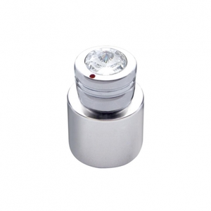 21787 by UNITED PACIFIC - C.B. On/Off/Volume/Squelch Knob - Clear Diamond