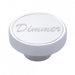 "23530 by UNITED PACIFIC - ""Dimmer"" Dash Knob - Stainless Plaque"