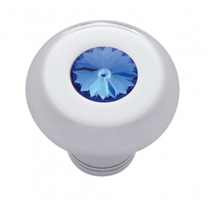 23583 by UNITED PACIFIC - Small Deluxe Dash Knob w/ Blue Diamond