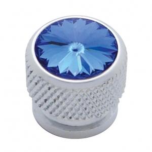 23908 by UNITED PACIFIC - Chrome Bolt Head - Blue Diamond
