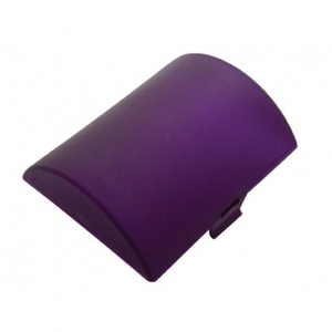 """30813 by UNITED PACIFIC - 2 3/4"""" x 3 3/8"""" Half Round Dome Light Lens - Purple"""
