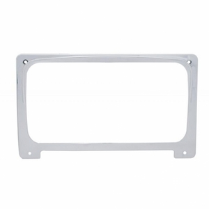 42068 by UNITED PACIFIC - Freightliner Center Gauge Cluster Cover w/ Visor