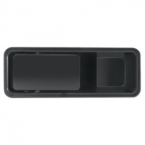 42207 by UNITED PACIFIC - International Black Interior Door Handle - Driver