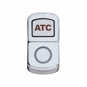 "45016 by UNITED PACIFIC - ""ATC Off Road"" Rocker Switch Cover - Plain"