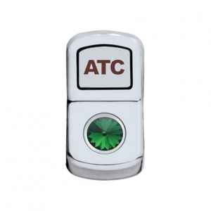 "45021 by UNITED PACIFIC - ""ATC Off Road"" Rocker Switch Cover - Green Diamond"
