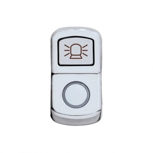 "45024 by UNITED PACIFIC - ""Beacon Light"" Rocker Switch Cover - Plain"