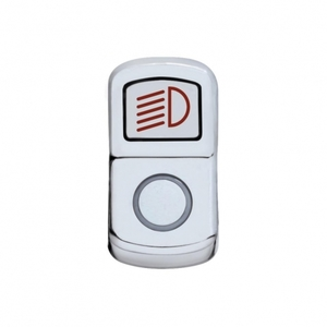 "45128 by UNITED PACIFIC - ""Headlight"" Rocker Switch Cover - Plain"