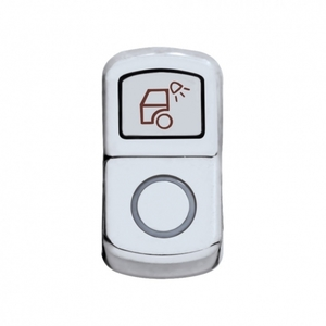 "45136 by UNITED PACIFIC - ""Load Light"" Rocker Switch Cover - Plain"