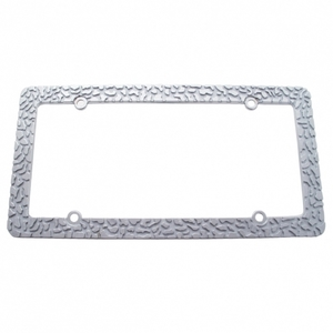 50005 by UNITED PACIFIC - Chrome Nugget License Frame