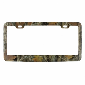 50047 by UNITED PACIFIC - Foliage Camo License Frame