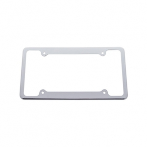 50059 by UNITED PACIFIC - Plain License Plate Frame  1 1/16""