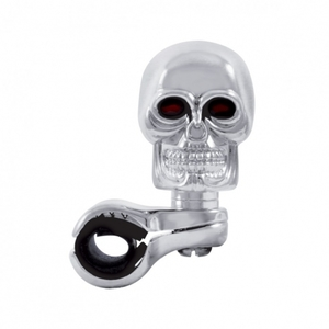 70113 by UNITED PACIFIC - Skull Steering Wheel Spinner