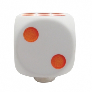 70162 by UNITED PACIFIC - Glow Dots Gearshift Knob - White