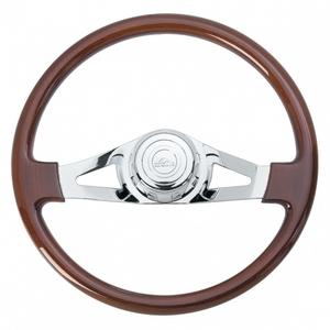 """88020 by UNITED PACIFIC - 18"""" 2 Spoke Steering Wheel - Peterbilt 98+, Kenworth 01+"""