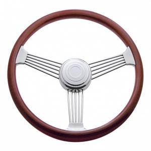 """88110 by UNITED PACIFIC - 18"""" Banjo Steering Wheel - Peterbilt 98+, Kenworth 01+"""