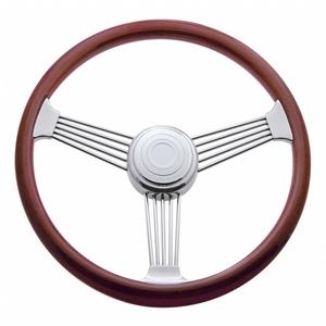 """88111 by UNITED PACIFIC - 18"""" Banjo Steering Wheel - Peterbilt 93-98, Kenworth 95-97"""