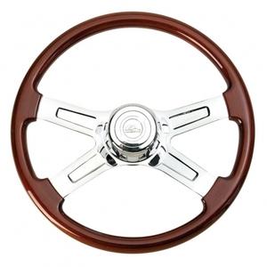 """88116 by UNITED PACIFIC - 18"""" 4 Spoke Steering Wheel - Freightliner 1989~July 2006"""