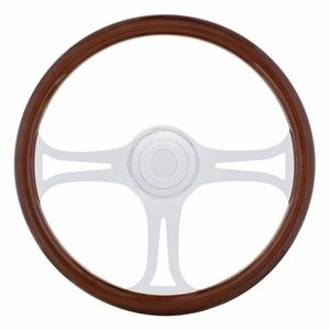 """88142 by UNITED PACIFIC - 18"""" Blade Steering Wheel - Peterbilt 98+, Kenworth 01+"""