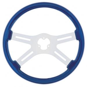 "88224 by UNITED PACIFIC - 18"" Steering Wheel - Blue"