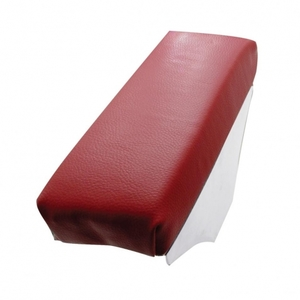 90255 by UNITED PACIFIC - Universal Padded Vinyl Arm Rest - Burgundy