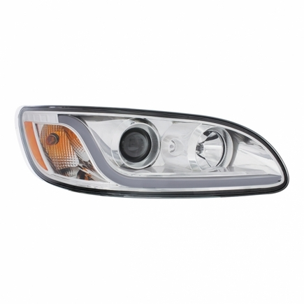 31253 by UNITED PACIFIC - Peterbilt 386/387 Projection Headlight - Passenger