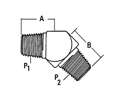 00904B-102 by WEATHERHEAD - Fittings - Fitting(reus) Male Pipe brass
