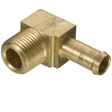 05710B-C06 by WEATHERHEAD - Fittings - Barbed Hose Coupling, Brass, H057