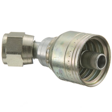 08Z-690 by WEATHERHEAD - Fittings - Hose End (perm) 1S/1R 45 D F SAE 37 Swivel