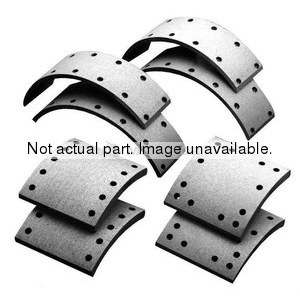 F5204515EB by MERITOR - FRICTION MATERIAL - BRAKE LINING KIT, PER AXLE