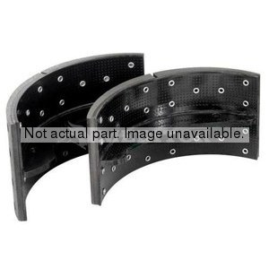 R464010 by MERITOR - HYDRAULIC BRAKE SHOE, LINED