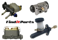 Master Cylininders, Clutch and Wheel Cylinders