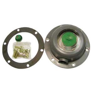 "361-4195 by STEMCO - Stemco Defender™ Hubcap - Red Rubber Plug ""P"""