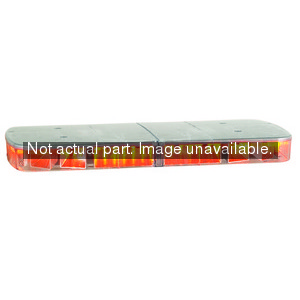 454206-02SC by FEDERAL SIGNAL - HighLighter LED Economy Lightbar, includes cigarette plug with on/off switch