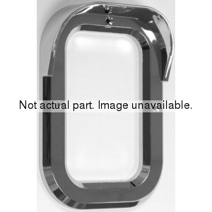 CZ60S-2 by POWER PRODUCTS - 2pc Oval Ss Light Bezel W/Scrws