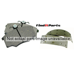SDS242DR by FEDERAL MOGUL-ABEX - Abex Drum Brake Shoe Set